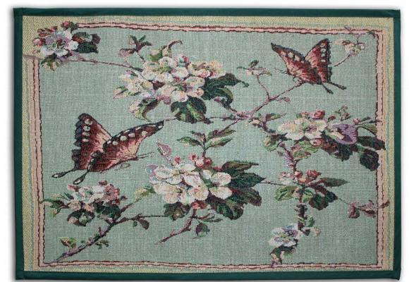 Mariposas posándose en un jazmín en flor